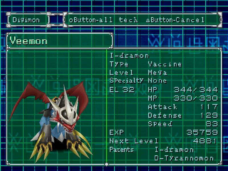 Digimon World 2 [U] ISO < PSX ISOs | Emuparadise